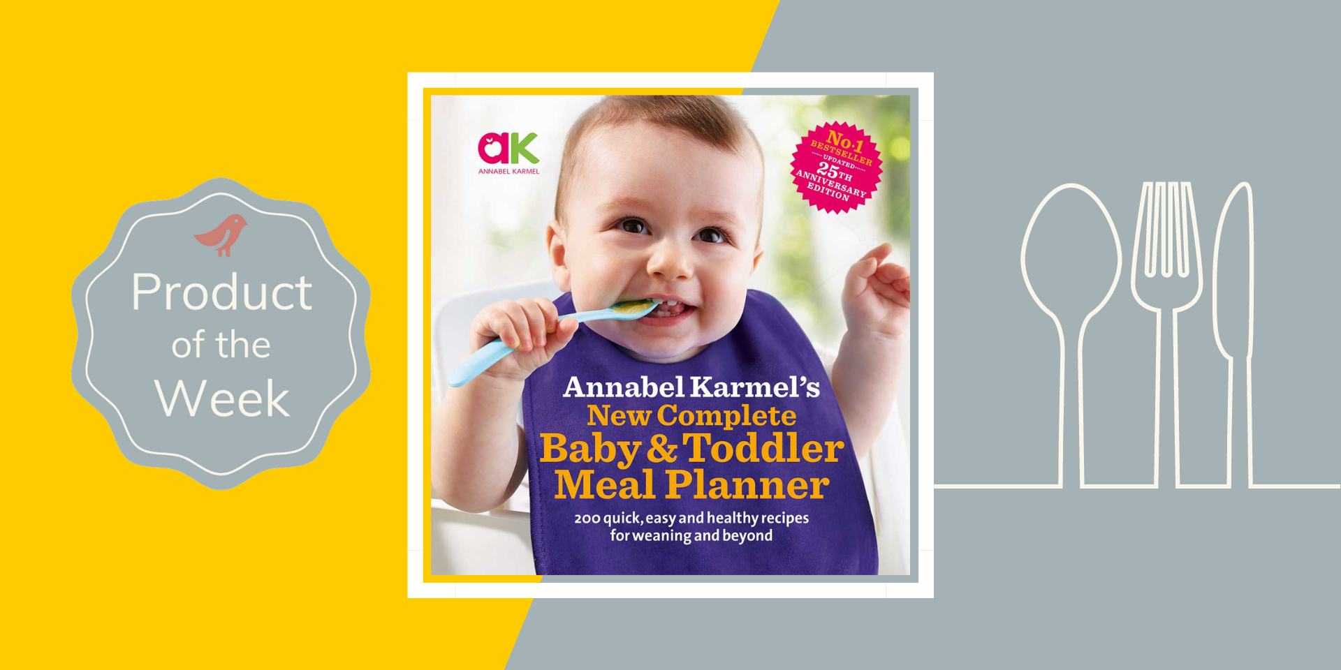baby and toddler meal planner