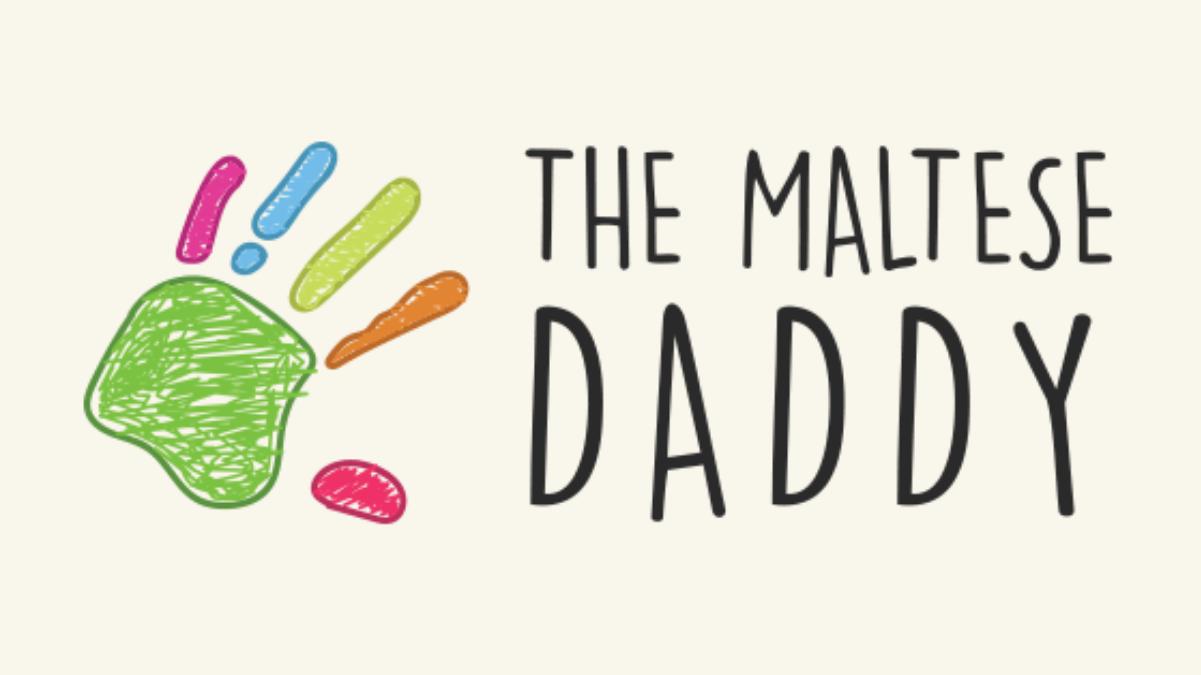 The Maltese Daddy Logo