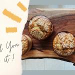 banana and tahini muffin recipe