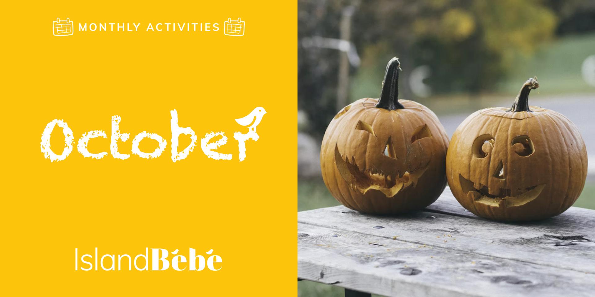 October Kids Activities